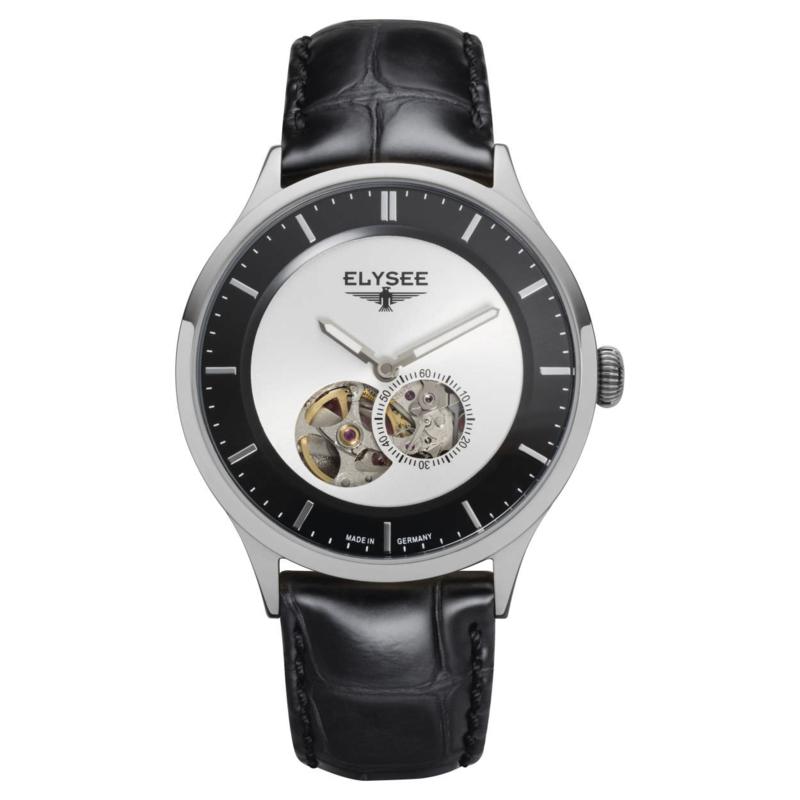 Nestor Edition Elysee Zwart Heren Horloge