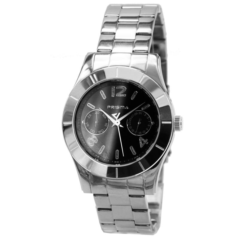 Prisma Rond Dames Horloge met Modern Ontwerp