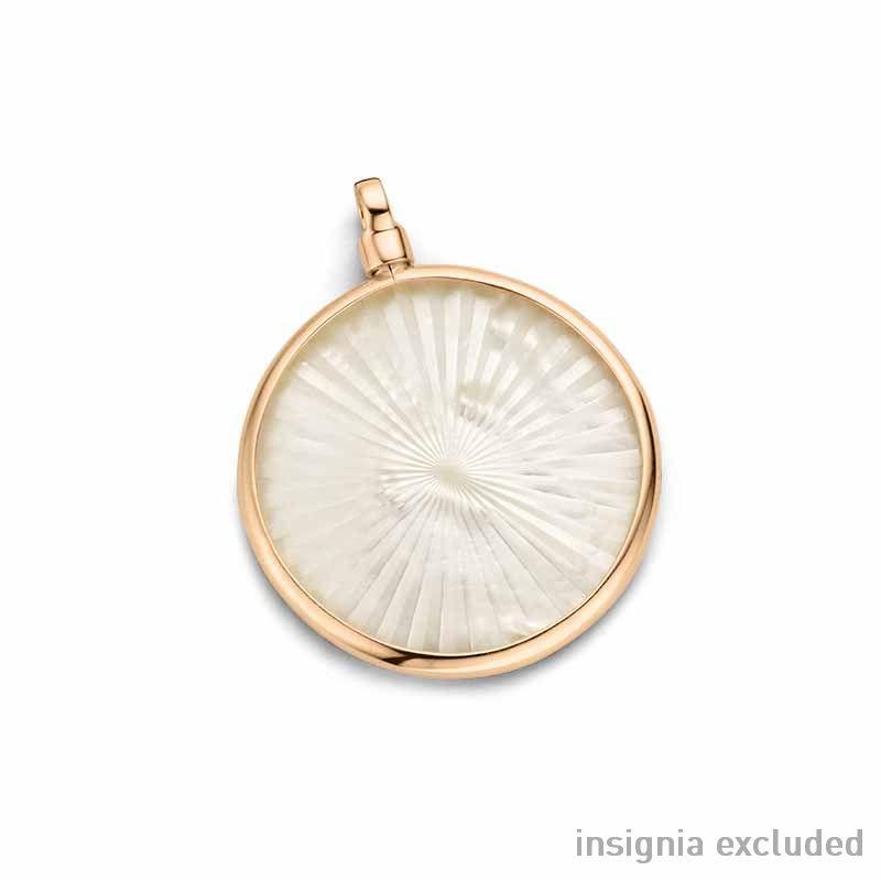 Roségouden 33mm Medaillon van MY iMenso Gold