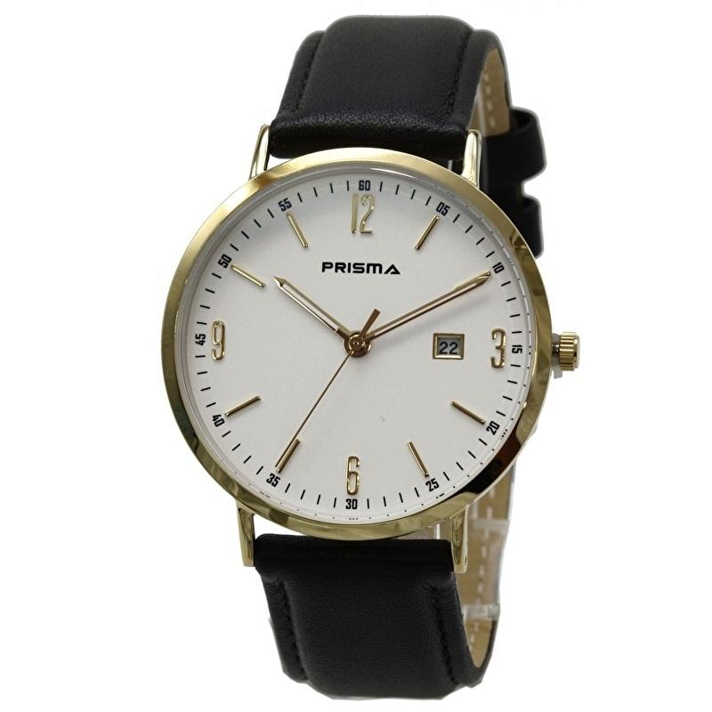 Prisma Horloge P.1503 Heren Edelstaal Slimline