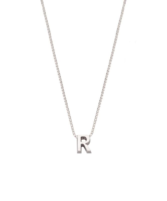 """Minioro Initiaal Collier """"R"""" Si-R"""