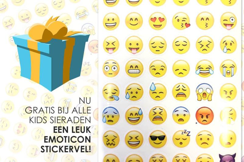 ♥ GRATIS ♥ Smiley stickervel > Voeg toe aan je winkelwagentje!
