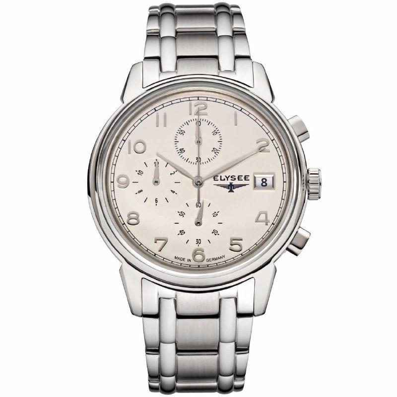 Elysee Vintage Chrono EL.80550S Heren Horloge