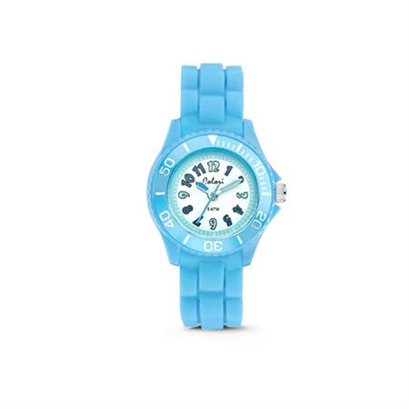 Lichtblauw KIDZ Horloge van Colori Junior