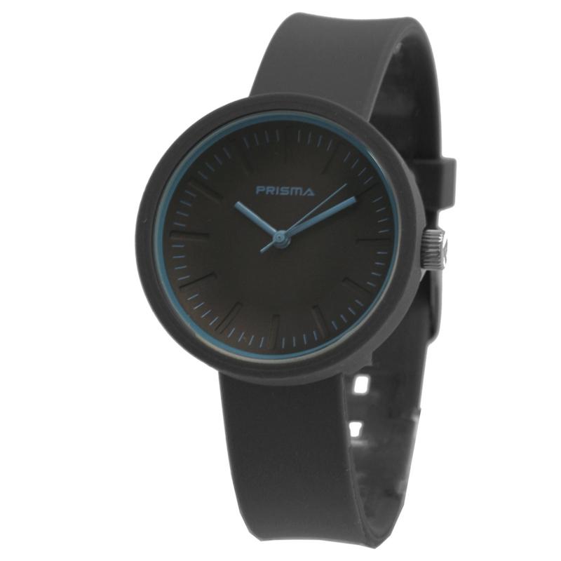 Prisma Modern Dames Horloge met Blauwe Wijzers