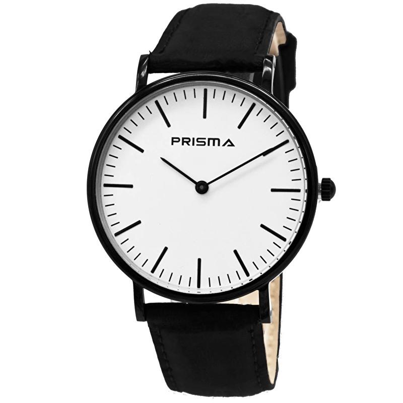 Prisma Horloge P.1622.146GZ Unisex Edelstaal Zwart
