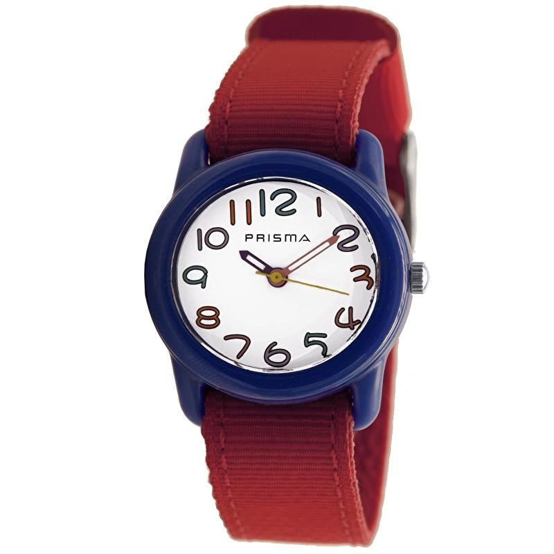 Prisma Horloge P.1314 Kids Rosa Rood