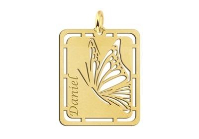 Vlinder Gouden Naamhanger Names4ever GNH57