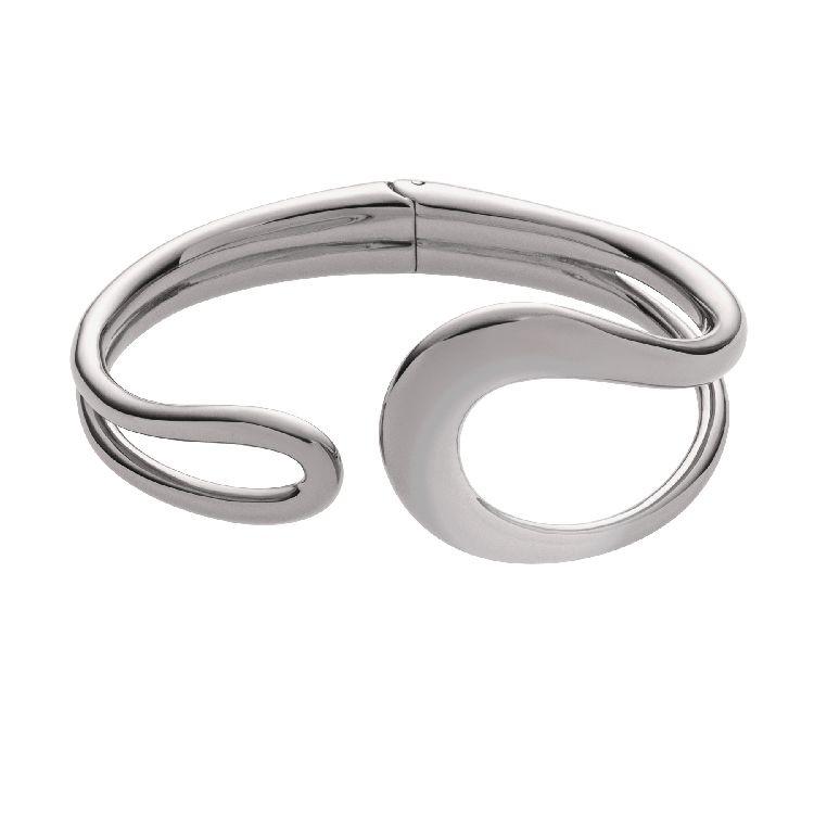 Zilverkleurige Armband met Lussen van M&M