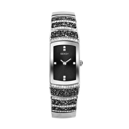 Sekonda SEKSY Dames Horloge met Zwarte Wijzerplaat