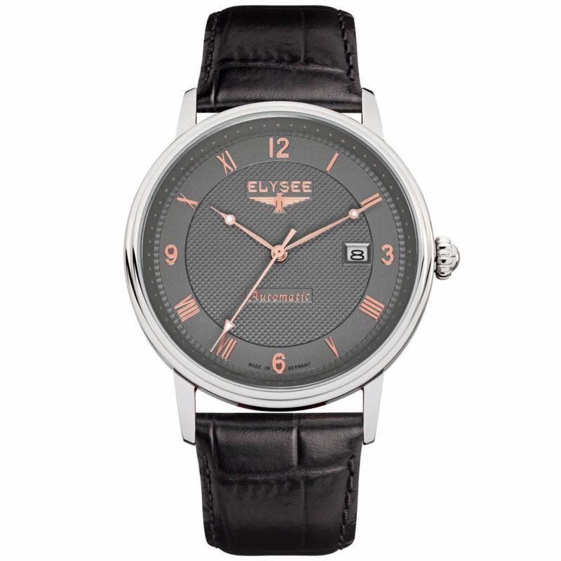 Monumentum Zilverkleurig Heren Horloge van Elysee