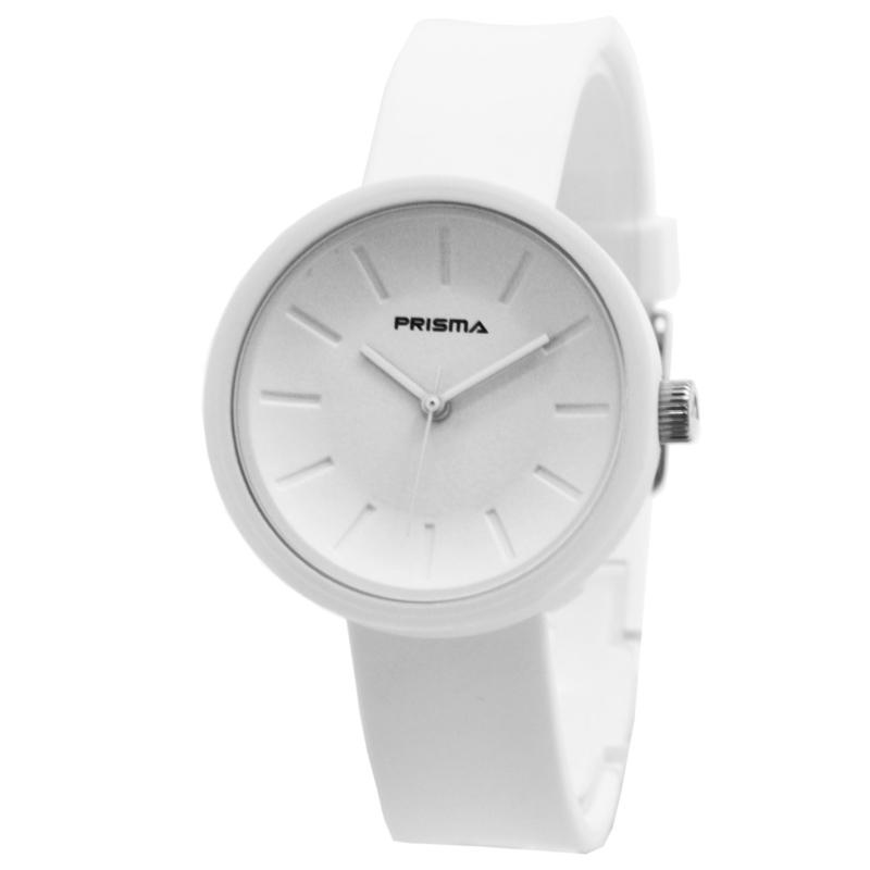 Prisma Modern Wit Dames Horloge