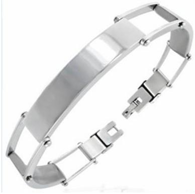 Graveer Armbanden / Massieve schakels
