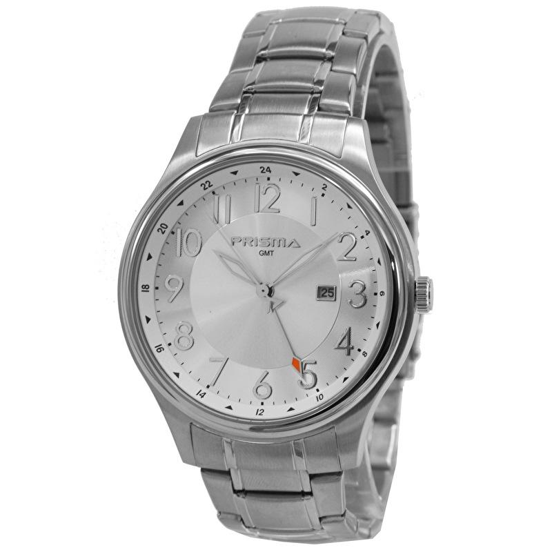 Prisma Horloge P.2625 Heren Sport Edelstaal