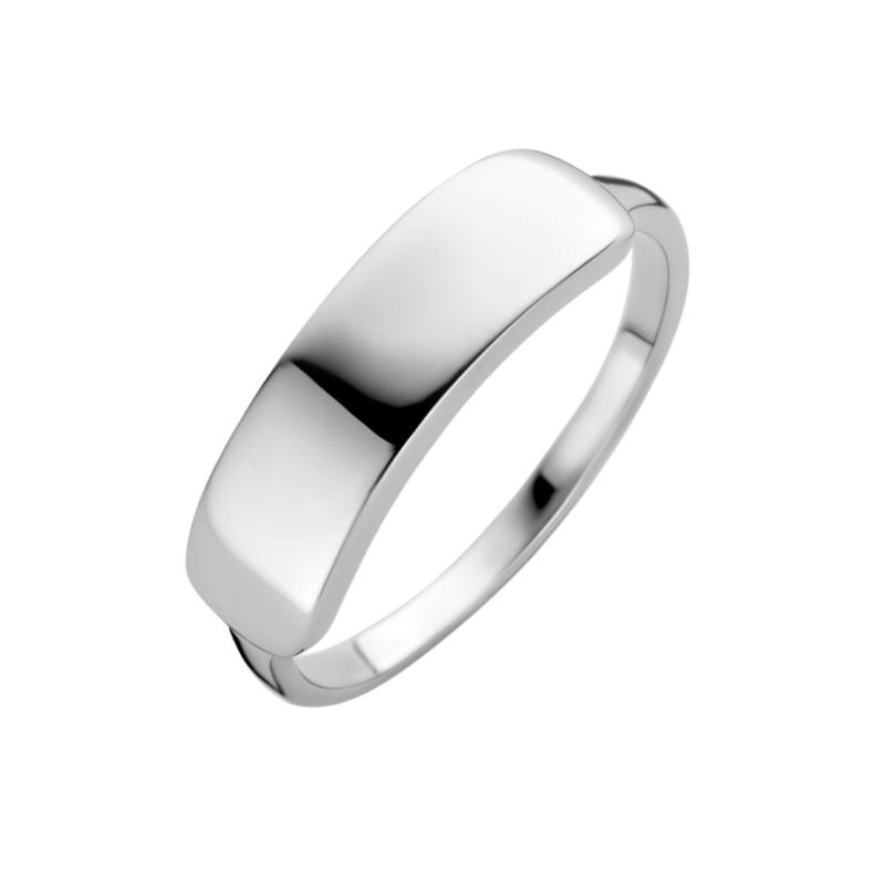 Zilveren Graveer Ring voor Dames