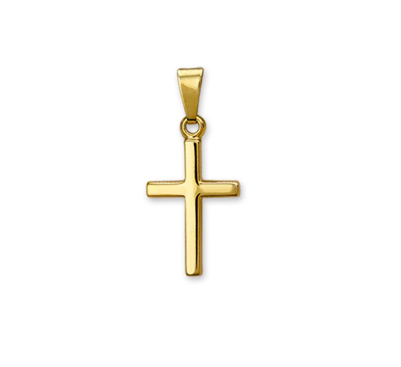 Kruis Hanger van Gepolijst    Sale Sieraden