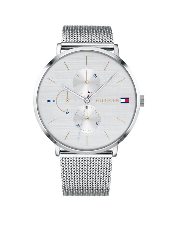 Tommy Hilfiger Horloge met Milanese Horlogeband
