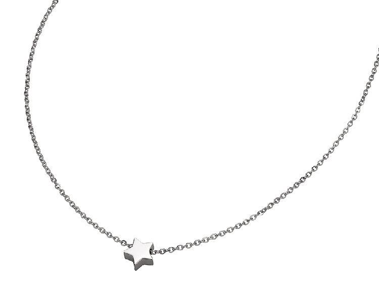 Zilverkleurig Collier met Ster Hanger van M&M