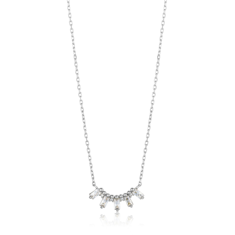 Glow Solid Bar Necklace van Ania Haie