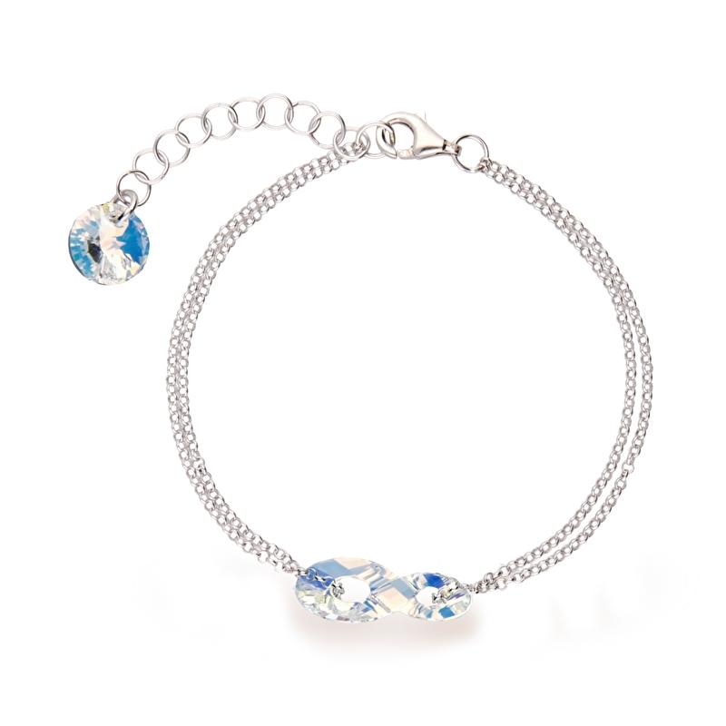 Infinity Swarovski Armband van Spark Jewelry