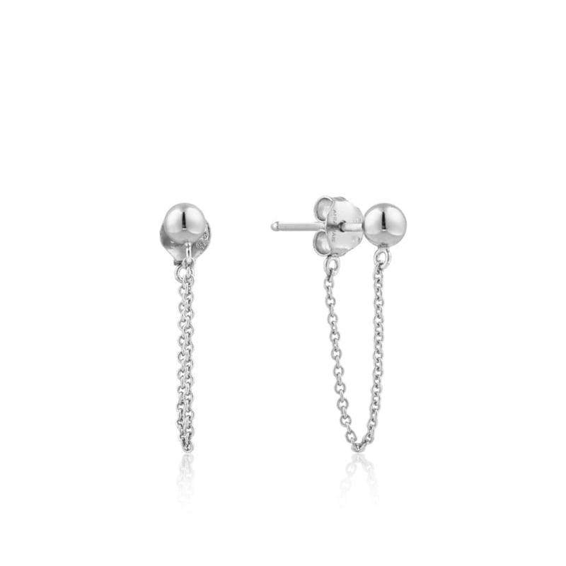 Modern Chain Stud Earrings van Ania Haie