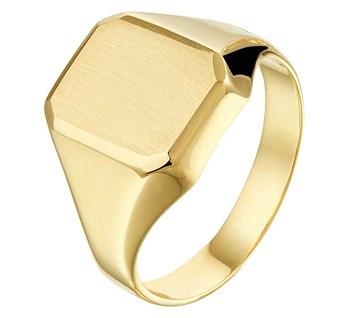 Gouden Zegelring - Graveer ring