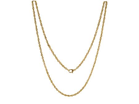 Goudkleurig Edelstalen LOCKits Collier 60cm