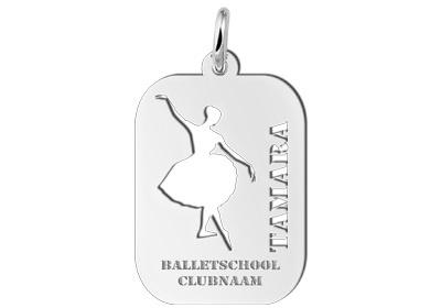 Names4ever Ballet Sporthanger Names4ever ZSB14