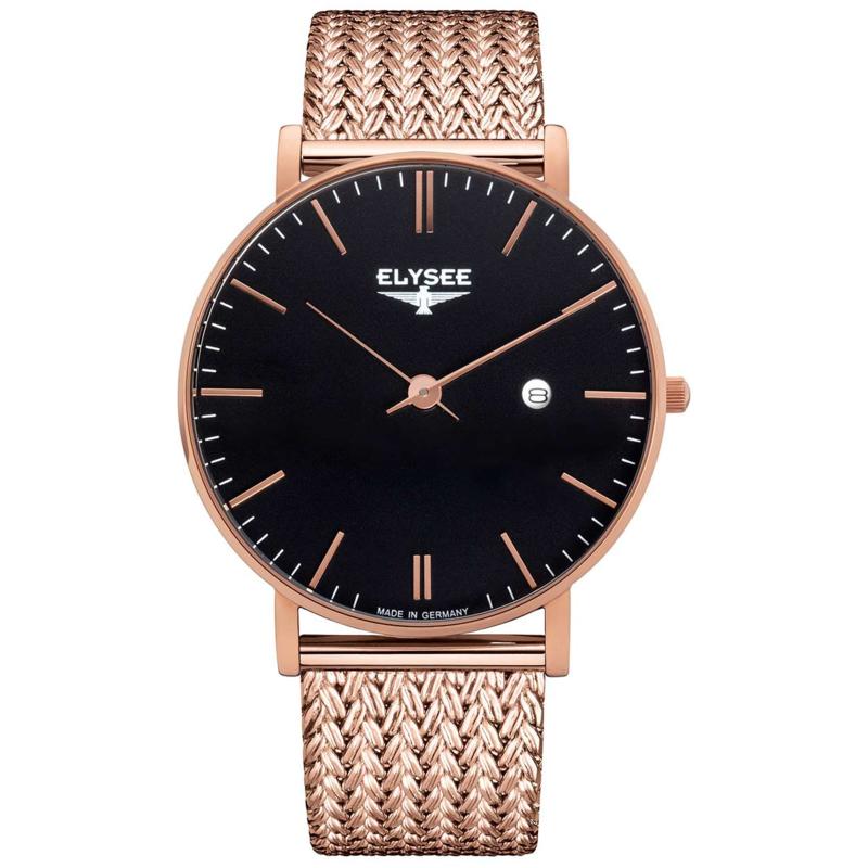 Roségoudkleurig Zelos Heren Horloge van Elysee