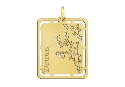 Bloesem Gouden Naamhanger Names4ever GNH51
