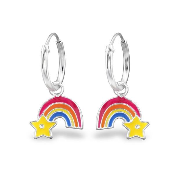 Regenboog Creolen Voor Meisjes