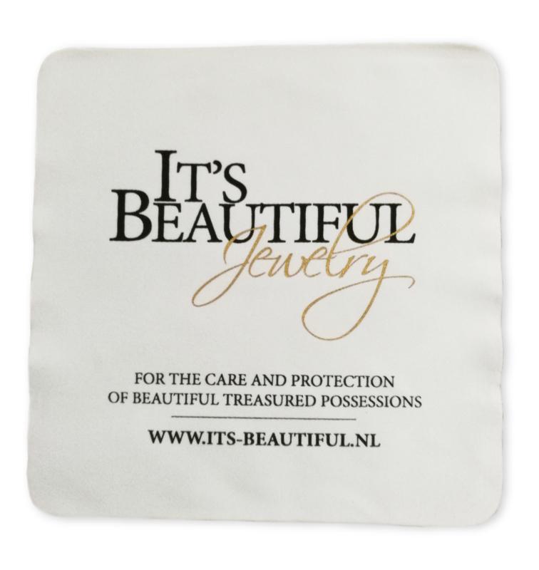 Poetsdoekje voor Sieraden van It's Beautiful Jewelry