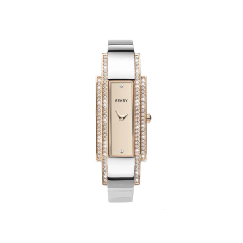 Sekonda SEKSY Dames Horloge met Roségoudkleurige Elementen