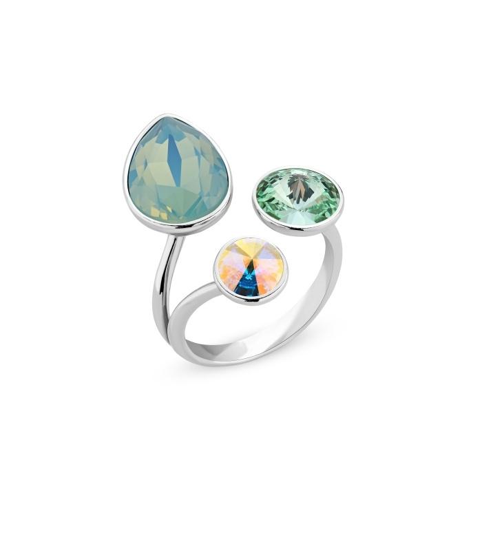 Swarovski Ring van Spark Jewelry - Pacyfic Opal