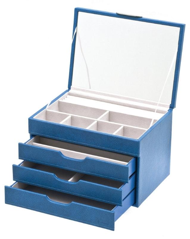 Blauwe Lade Sieradendoos