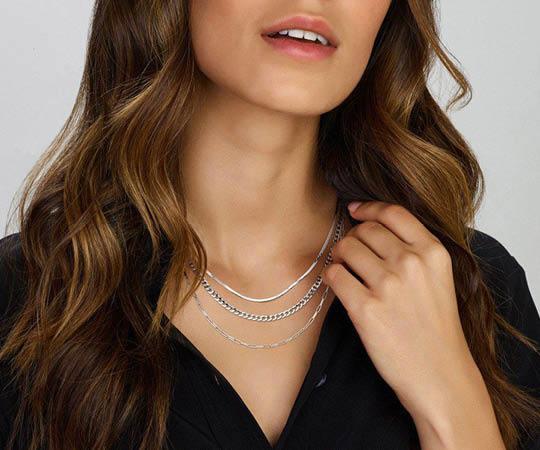 Dames ketting zilver | Juwelier It's Beautiful
