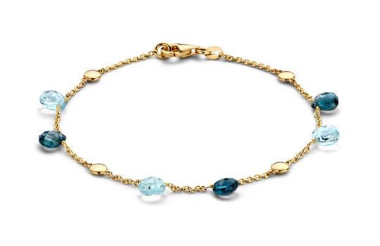 Luxe gouden dames armband  It's Beautiful Juwelier