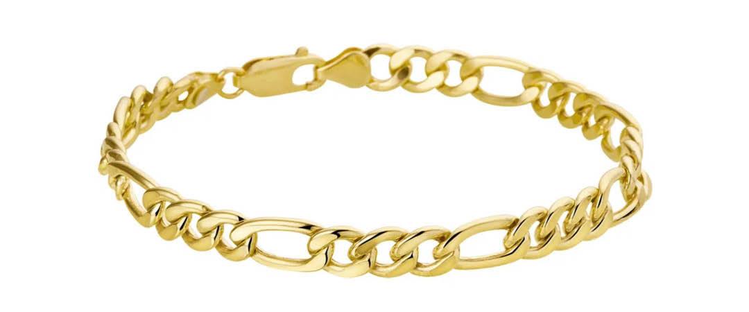 Gouden heren armband   It's Beautiful Juwelier