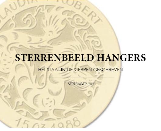 STERRENBEELD HANGERS - Het staat in de sterren geschreven