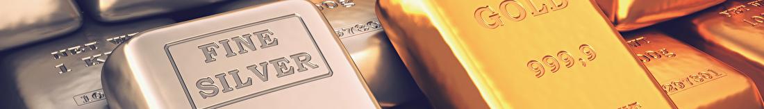 Goud, zilver, platina en palladium
