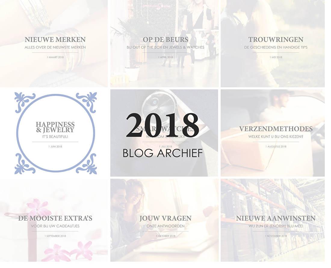 2018 BLOG ARCHIEF