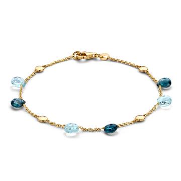 Armbanden met kleursteen - It's Beautiful Jewelry