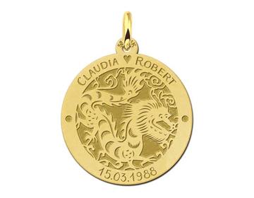 Sterrenbeeld hanger goud Names4ever -juwelier It's Beautiful