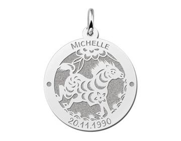Zilveren sterrenbeeld hanger Names4ever - juwelier It's Beautiful