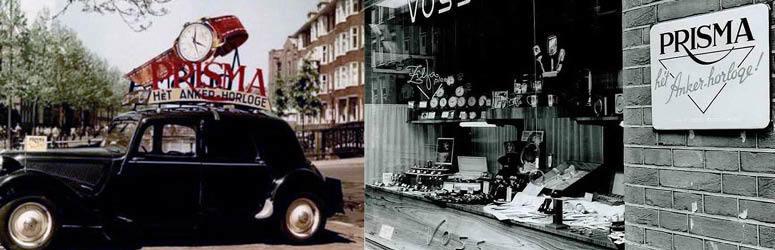 Sinds 1948 worden Nederlandse creativiteit en vakmanschap gecombineerd in het moderne en eigentijdse horlogemerk; Prisma.