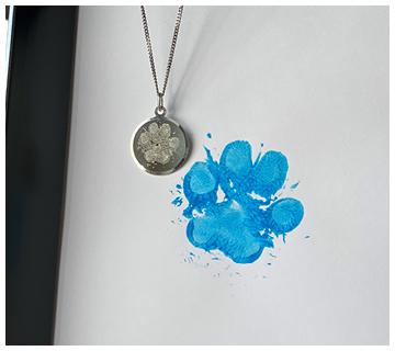 Hondenpoot afdruk op sieraden | Juwelier It's Beautiful