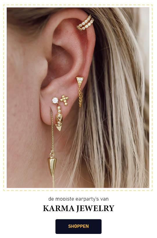 Karma Jewelry | De leukste oorbellen voor de perfecte earparty!