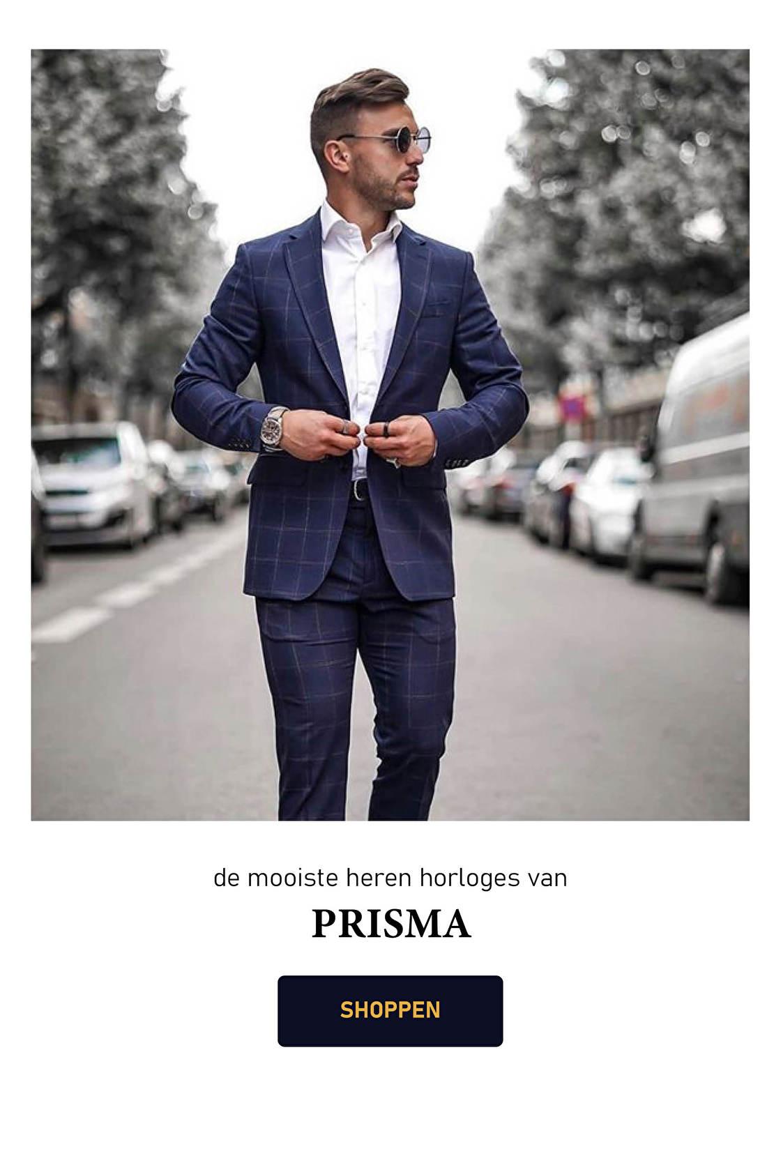 Prisma staat al jarenlang bekend om hun bijzondere horloges die ook nog eens van absolute topkwaliteit zijn. Dit komt doordat Prisma goed let op kwaliteit en zorg draagt voor functionaliteit. Ze willen u tenslotte geen horloge verkopen dat zij niet zelf zouden willen dragen. Met het strakke ontwerp en de stijlvolle uitstraling van de Prisma Horloges maakt u zeker indruk. En nu zijn deze stijlvolle horloges ook te verkrijgen bij juwelier It's Beautiful!