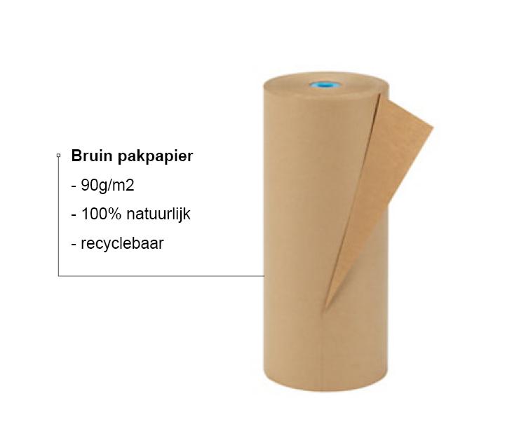 Milieubewust Juwelier It's Beautiful - Bruin pakpapier - 90g/m2 - 100% natuurlijk - recyclebaar