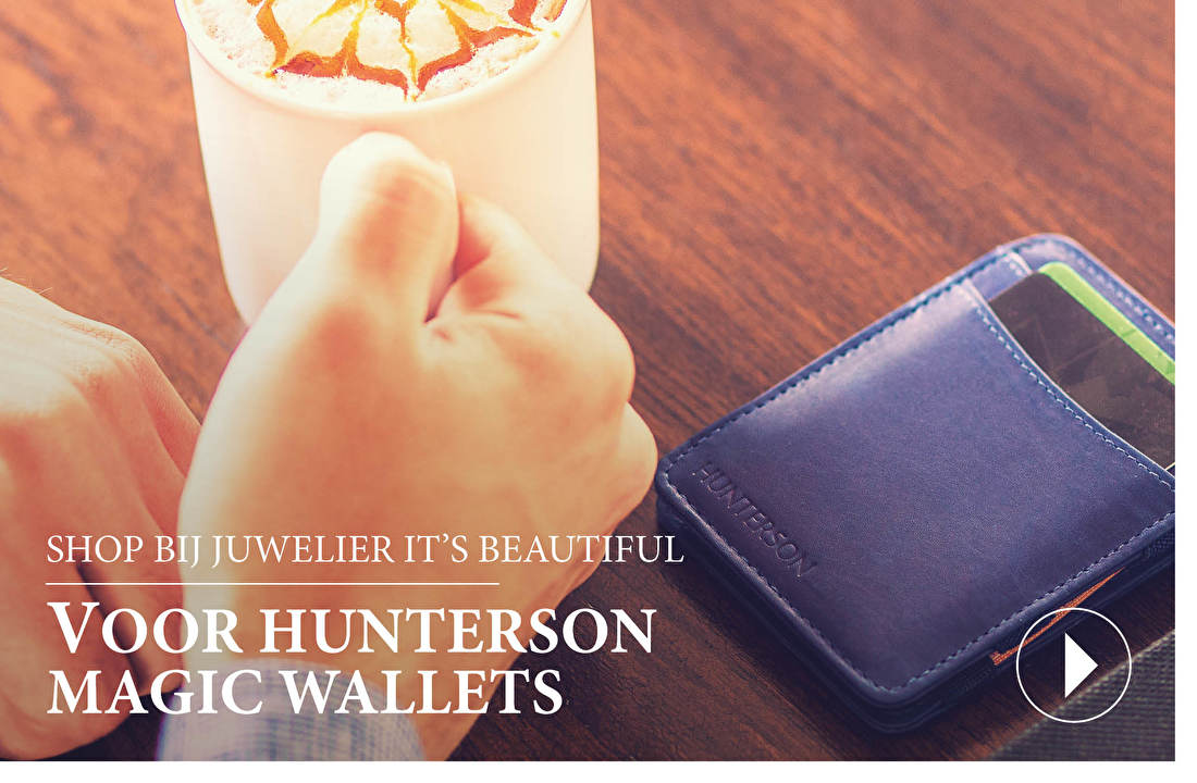 SHOP BIJ JUWELIER IT'S BEAUTIFUL VOOR HUNTERSON MAGIC WALLETS